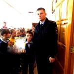 Победа команды 2 класса Б в   конкурсе  Полоса препятствий