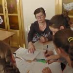 Валентина Алексеевна Бондаренко, учитель высшей квалификационной категории в сотрудничетве с учениками